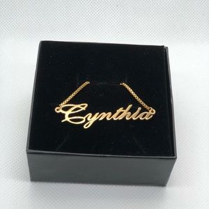 Jewelry - 14K Gold Plated Necklace  - Cynthia